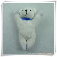 Ímã do refrigerador do urso do brinquedo do luxuoso enchido para a promoção