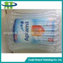 Saco de almofada de coluna de ar para leite em pó