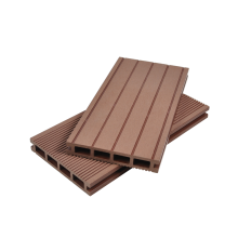 Anti-UV exterior decking composto plástico
