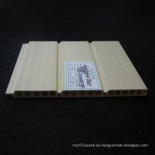 WPC-132h9-3f del panel de pared del PVC del panel de la puerta deslizante de WPC Techos