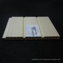 Panel de puerta corredera WPC Panel de pared de PVC WPC Techos Wd-132h9-3f