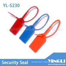 Scellés en plastique jetables avec numéro de série (YL-S230)