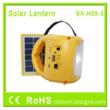 2013 Latest Solar Lantern With Lithium Battery And USB Mobile Charging