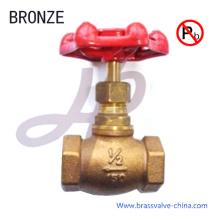 Valve de robinet d'arrêt en bronze sans plomb approuvée NSF