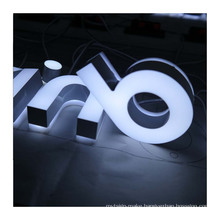 3D Lighting Acrylic Mini LED Channel Letter Sign for store sign advertising decoration
