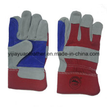 Cow Split Leather Rigger and Machinist Gloves