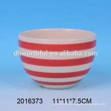 Venta al por mayor de cerámica barata del tazón de fuente de la nueva llegada 2016