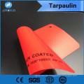 Alle Arten von Material weiß und schwarz PVC beschichtet Plane verwendet, um zu neigen oder etwas anderes zu schützen