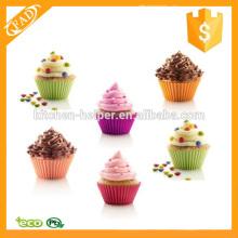 Eco-Friendly Factory-Preis Silikon Muffin und Cupcake Backformen