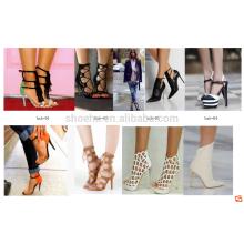 подгонянные различные стили женская обувь