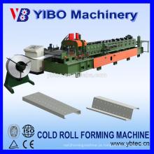 Tipo de caixa YIBO Pré-corte CZ Purlin Roll Forming Machine