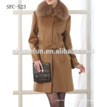korean style fashion ladies wool coat