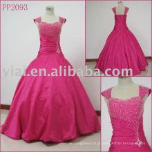 2010 fabricação sexy elgant laço vestido de bola PP2093