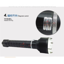 flashlight for rifle hunting diving torch emergency hammer design XM-L2 cree extendable baton