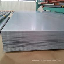 Gabinete de chapa de aluminio y placa de la serie 1000