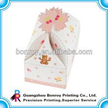 Новый дизайн подарок бумаги коробки торта упаковывая