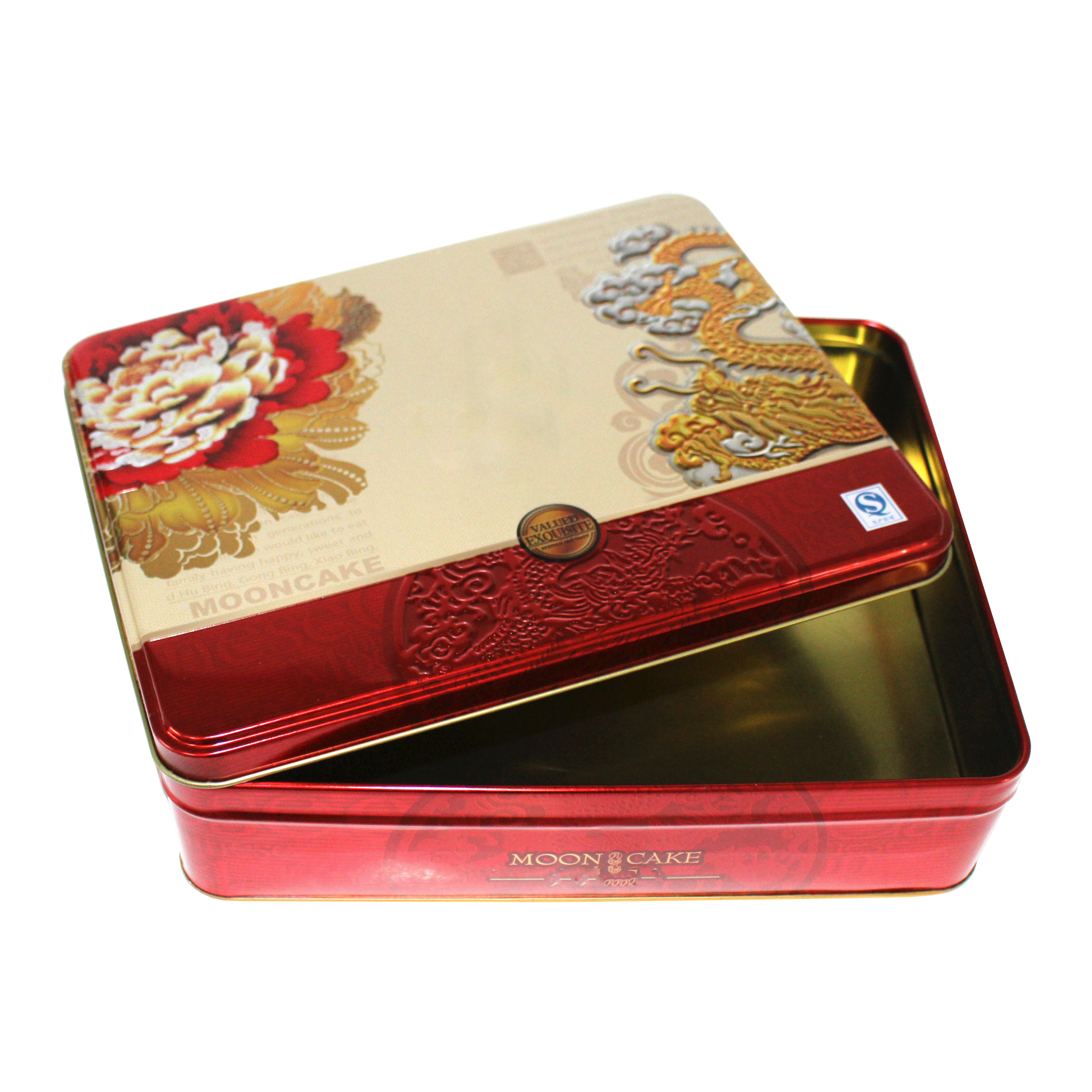 mooncake tinplate packaging