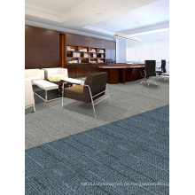 Nylon Jacquard Office Modular Teppich Fliesen mit PVC Backing