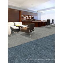 Nylon Jacquard Office modulares tapete azulejos com PVC Backing