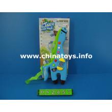 Plástico cavalo brinquedo instrumento musical com luz (082457)