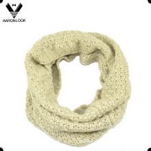 Vente en gros Echarpe en cuir tricotée en hiver haute qualité