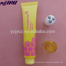 OEM Hot sale Plastic soft PE lip gloss hose packaging tube