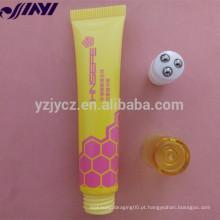 OEM Empty Plastic Cosméticos soft PE lip gloss tubo de embalagem