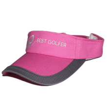 2017 custom design high quality golf visors plain
