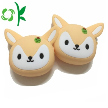 Tùy chỉnh Silicone Coin Purse Pouch Creadit Thẻ Wallet