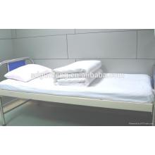 """простыня ткань, 100% 20*20 60*60 67"""" хлопчатобумажная ткань, твердые окрашенные больницы постельные принадлежности"""