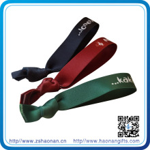 Heißer Verkauf angepasst Stoff elastische Armbänder