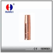 Hrpanasonic180A cobre solda bocal com isolador Bush
