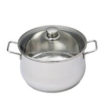 Olla de sopa de olla de cocina de acero inoxidable de utensilios de cocina