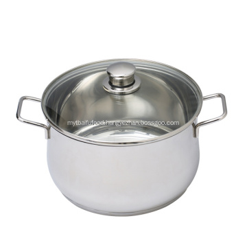 Kitchenware Stainless Steel Cooking Pot Soup Pot