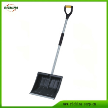 16-Inches Poly Snow Shovel with D-Handle