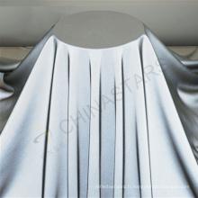 Tissu réfléchissant nylon nylon ultra doux pour vêtements