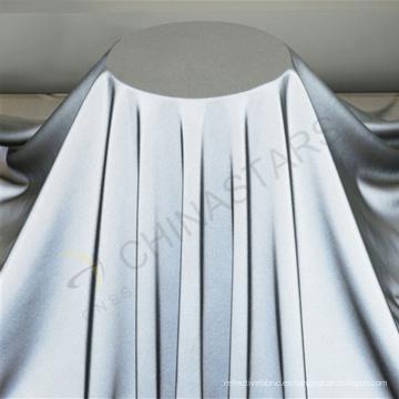 Tejido reflectante de nylon de seda ultra suave para la ropa