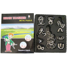 Metal Puzzle (10 in1 open widonw box)