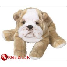Meet EN71 and ASTM standard ICTI plush toy factory bulldog stuffed toys