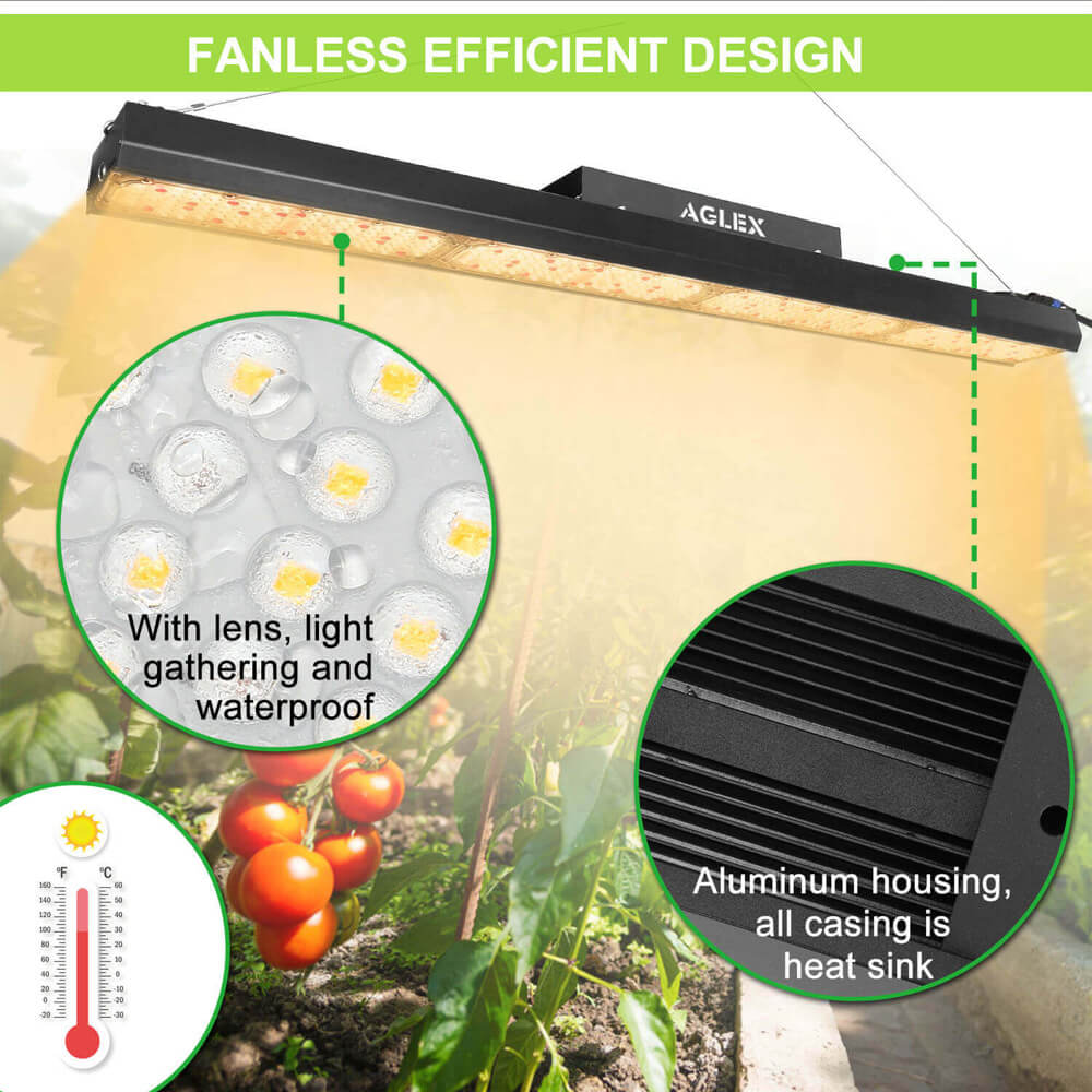 waterproof led grow light