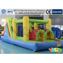 Large Residential Inflatable Bounce House , Inflatable Obst