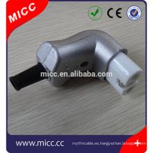 Conector de termopar Conectores hembra de alúmina para calentadores