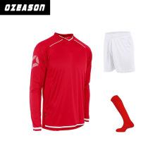 Wholesale Sportswear Custom Green Soccer Jersey