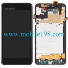 для LG Побег P870 ЖК-экран и Сенсорный экран с передней части корпуса