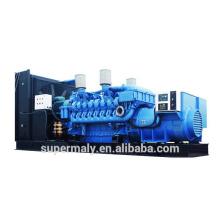 Refrigerado por agua grande fuente de alimentación generador diesel 1500KW por el motor cummins