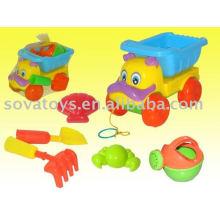903050962-cartoon cão veículo brinquedo w / molhar pote