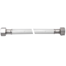 Tubo de conexión de baño trenzado de alambre de aluminio