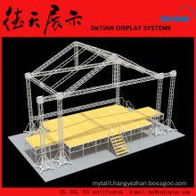 250x250mm Shanghai Aluminum Stage Platform of Adjustable Height