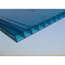 10 años de garantía skyblue invernadero / casa skylightspolycarbonate hoja sólida