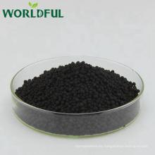 Precios de fertilizantes granulares de liberación lenta, urea recubierta de fertilizante nitrogenado humato de oro negro